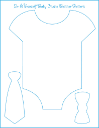 template for our onesie bow tie banner all we need is to find the
