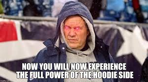 Bill Belichick Memes - bill belichick of the the hoodie side imgflip