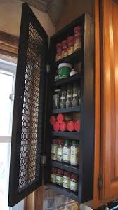 Cabinet Storage Ideas Best 25 Spice Storage Ideas On Pinterest Spice Racks Kitchen