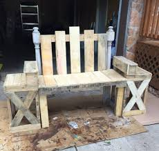 Wooden Pallet Bench Pallet Furniture Ideas That Will Make You Fall In Love Pallet
