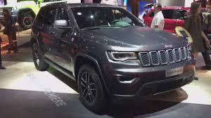 jeep cherokee gray 2017 2017 jeep grand cherokee trailhawk is the best one to take off road