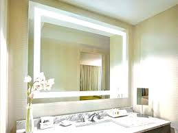 lighted bathroom wall mirror large light up wall mirror vanity wall mirror medium size of bathroom wall
