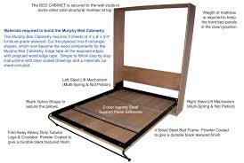 Murphy Bed Frame Kit Wall Bed Frame Kit Walls Decor