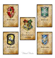 harry potter hogwarts art print