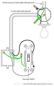 how to connect a light fixture 2 way switch with power source via light fixture how to wire a