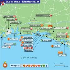 map of gulf coast florida w2g map of florida emerald coast travel ideas