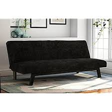 futon sofa bed with storage amazon com