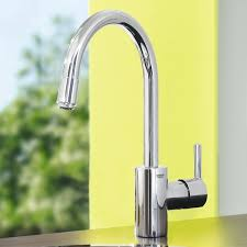 grohe feel kitchen faucet grohe 32671000 feel kitchen tap pull down spray amazon co uk