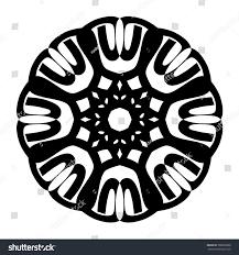 tattoo tribal circle vector shape tribal stock vector 306036998