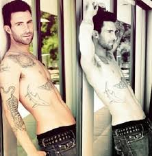 guys and tattoos like adam levine with images tweets