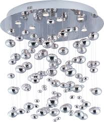 Maxim Chandeliers Dew 9 Light Chandelier Flush Mount Chandelier Maxim Lighting