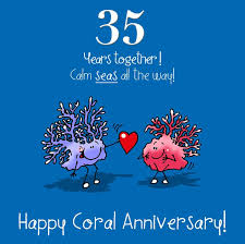35 year anniversary 35 wedding anniversary