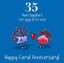 35 year wedding anniversary 35 wedding anniversary