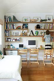 childrens desk and bookshelves desk ideas for kids rooms