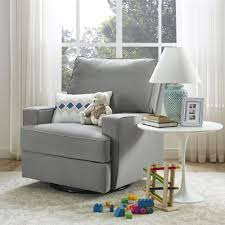 Side Table For Recliner Chair Bedroom Swivel Glider Recliner And Lumbar Pillow With Table Lamp