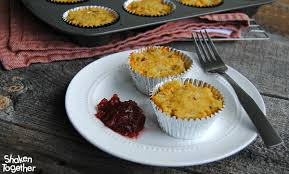 cheesy muffins thanksgiving leftovers recipe