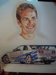 paul walkers nissan skyline drawing paul walker favourites by monicahooda on deviantart