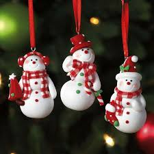 snowmen ornament trio ornaments sale sale sale