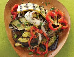 Mediterranean Style Roasted Vegetables Roasted Vegetable Salad Recipe Vegetarian Times