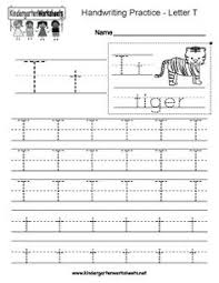 letter t writing practice worksheet troah handwriting sheets