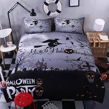 bedroom outstanding halloween theme bedding sheet in king size