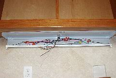 how to install under cabinet lights