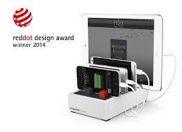best usb charging station 4 5a 22 5w high power avantree