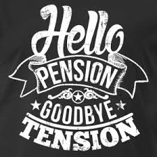 goodbye tension hello pension shop pension t shirts online spreadshirt
