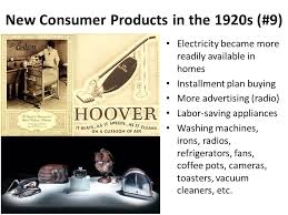 Toasters In The 1920s Modern World History Assign Ppt Video Online Download