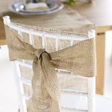 burlap chair sashes aliexpress buy 5pcs naturally burlap chair sashes
