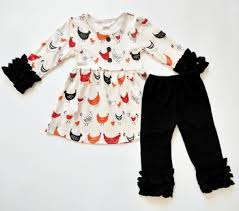 thanksgiving turkey printing tunic icing sleeve baby