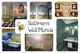 bathroom mural ideas bathroom mural ideas bumble bee murals