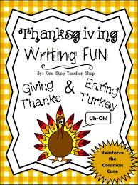 free thanksgiving writing activity thanksgiving in the