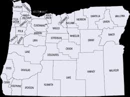 map of oregon with counties find help search by oregon county oregon coalition against