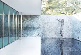 Mies Van Der Rohe Floor Plan by Ad Classics Barcelona Pavilion Mies Van Der Rohe Archdaily