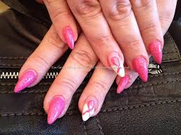 eye candy nails u0026 training stiletto nails with race for life