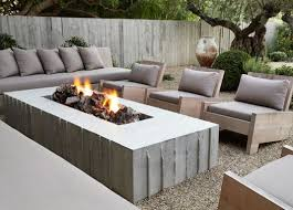 Concrete Fire Pit by Best 25 Outside Fire Pits Ideas On Pinterest Outdoor Fire Pits