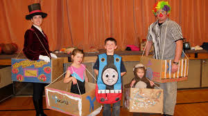 the beautiful thrifty life a homemade halloween family circus