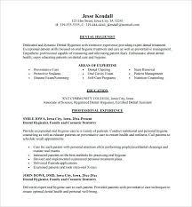 dental hygiene resume template 2 resume of dental hygienist mattbruns me