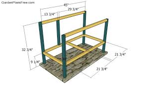 rabbit hutch plans free free garden plans how to build garden