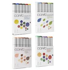 copic 6pc sketch packs wisemen trading and supply
