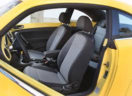 beetle volkswagen interior 2012 yellow rush volkswagen beetle interior front eurocar news