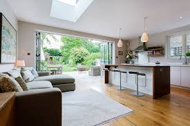 galley kitchen extension ideas kitchen extension ideas bi fold doors skylight kitchen island