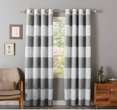 Rugby Stripe Curtains 84 Inch Teal White Rugby Stripes Curtain Single Panel Teal