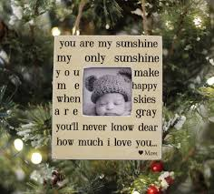 christmas quote daughter christmas ornament gift personalized photo ornament with quote