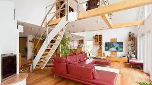 Offenes Wohnzimmer Modern Moderne Wohnzimmer Mit Galerie Kreative Bilder Für Zu Hause