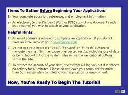 1 welcome to the colgate university online employment system