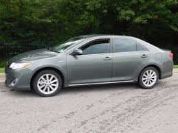 2012 used toyota camry hybrid 4dr sedan xle at honda of