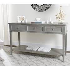 Sofa Table With Drawers Shop Console Tables At Lowes Com