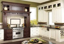 furniture white woodmark cabinets with modern refrigerator for